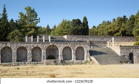The Asclepion; temple to the god of health and healing in Ancient Greece, Kos.