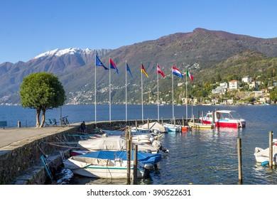 Ascona, Harbour,