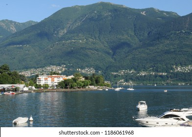 Ascona at the Lago Maggiore is famous for swiss and international tourists.