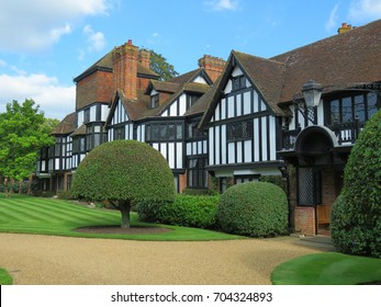 Ascott House. Grade Two Tudor listed building. August 2017. Bedfordshire UK.