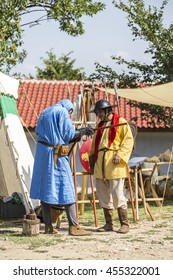 ASENVOGRAD, BULGARIA - JUNE 25, 2016 - Medieval fair in Asenovgrad recreating the life of Bulgarians during the Middle ages.