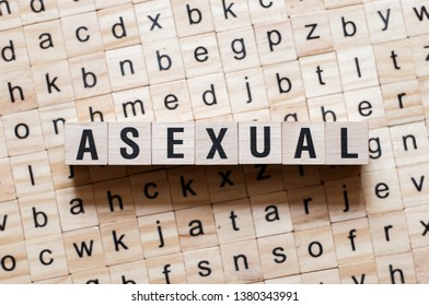 Asexual word concept