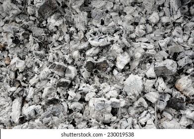Ash and Burnt Coal