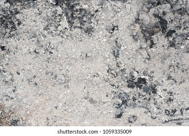 ash in fireplace natural background texture