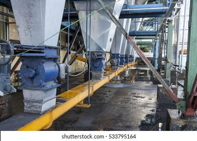 Ash installation in coal power station - Poland.