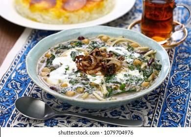ash reshteh, persian new years noodle soup