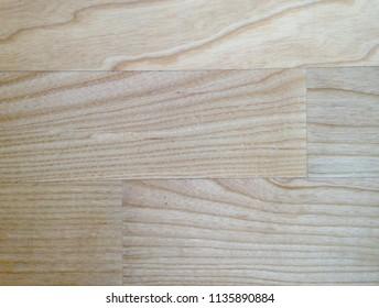Ash wood floor detail