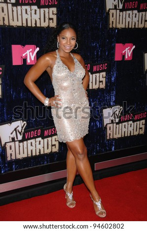 Ashanti At The 2007 MTV Video Music Awards Palms Resort Casino Las