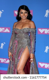 Ashanti at the 2018 MTV Video Music Awards held at the Radio City Music Hall in New York, USA on August 20, 2018.
