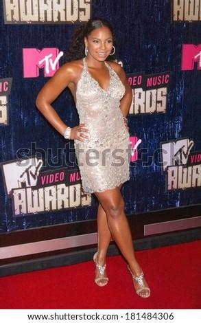 Ashanti At MTV Video Music Awards VMAs 2007