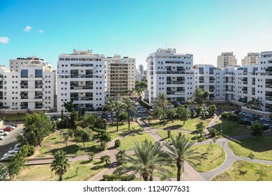 Ashdod - city in Israel. The central district.