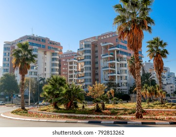 Ashdod - city in Israel - modern buildings