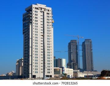 Ashdod - city in Israel - modern district