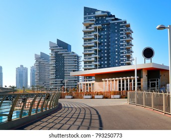 Ashdod -city in Israel - sea park