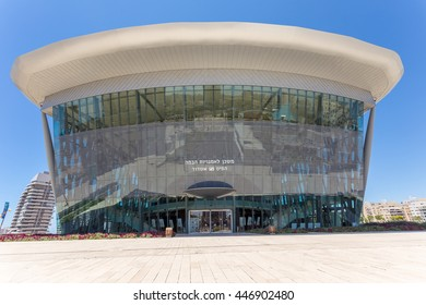 ASHDOD, ISRAEL-JUNE 12, 2015: Center for the Performing Arts of Ashdod