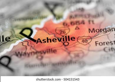 Asheville. North Carolina. USA