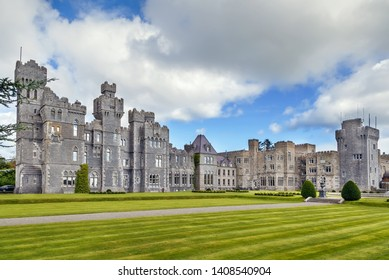 Ashford Castle is a medieval and Victorian castle that has been expanded over the centuries, Ireland