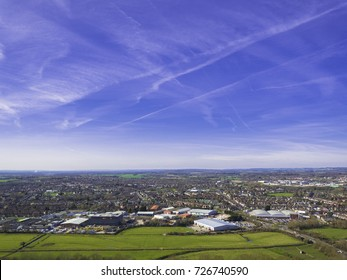 Ashford, Kent Aerial Photo
