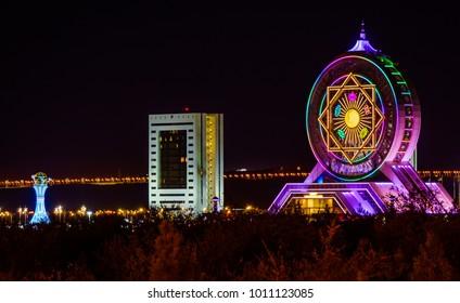 Ashgabat, capital of Turkmenistan
