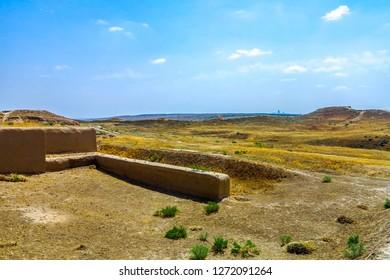 Ashgabat Nusay Ancient Parthian Settlement of Old Nisa