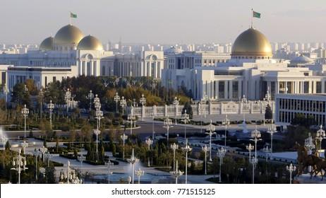 Ashgabat, Turkmenistan city centre