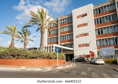 ASHKELON, ISRAEL. July 13, 2014. Barzilai Medical Center, a hospital in Ashkelon.