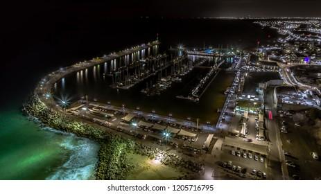 Ashkelon at night