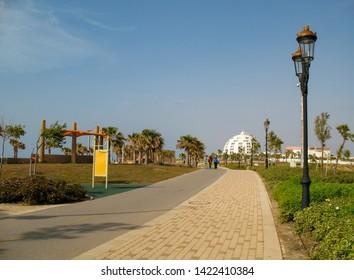 Ashkelon promenade, Bar Kochva Promenade, Ashkelon, Israel