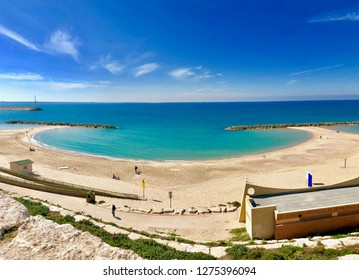 Ashkelon sea, Marina beach