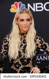 Ashlee Simpson at the 2018 Billboard Music Awards held at the MGM Grand Garden Arena in Las Vegas, USA on May 20, 2018.