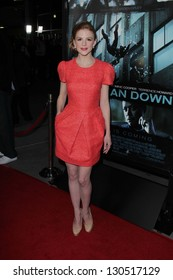 "Ashley Bell at the ""Dead Man Down"" World Premiere, Arclight, Hollywood, CA 02-26-13"