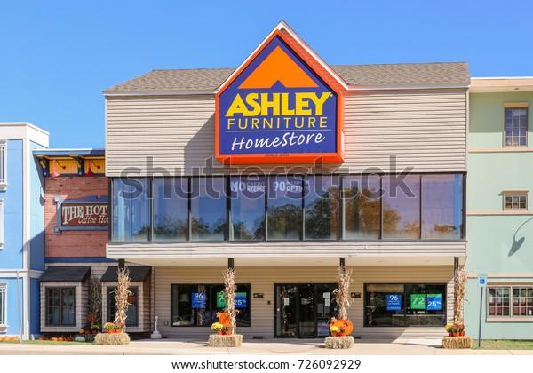 Ashley Furniture Homestore Retail Location Ashley Stock Photo Edit