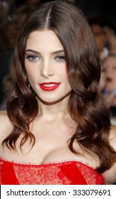 Ashley Greene at the Los Angeles premiere of 'The Twilight Saga: Breaking Dawn Part 1' held at the Nokia Theatre L.A. Live in Los Angeles, USA on November 14, 2011.