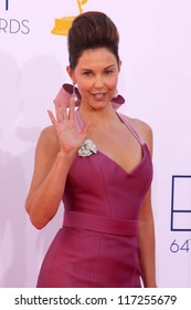 Ashley Judd at the 2012 Primetime Emmy Awards Arrivals, Nokia Theater, Los Angeles, CA 09-23-12