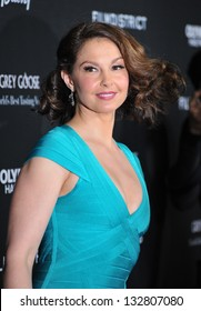 """Ashley Judd at the Los Angeles premiere of """"Olympus Has Fallen"""" at the Cinerama Dome, Hollywood. March 18, 2013  Los Angeles, CA Picture: Paul Smith"""