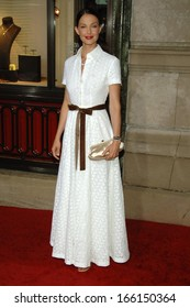 Ashley Judd, wearing Michael Kors, at CARTIER Declare Your LOVE Day VIP Cocktail Reception, Cartier store, New York, NY, June 08, 2006