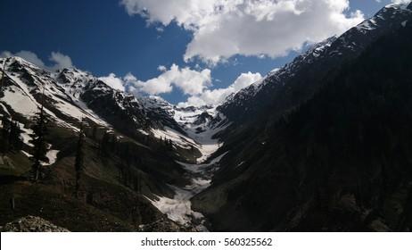 Ashret Gol river and Lowari pass, Khyber Pakhtunkhwa province, Pakistan
