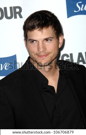Ashton Kutcher  at the 2008 Glamour Reel Moments Gala. Directors Guild of America, Los Angeles, CA. 10-14-08
