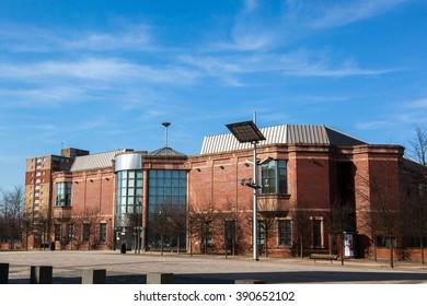 Ashton Under Lyne, Lancashire, England, UK - March 14, 2016: Magistrates Court