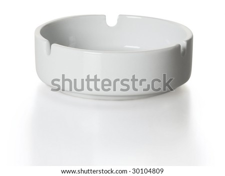 Ashtray isolated