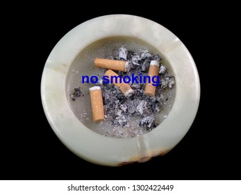 Ashtray/Cigarette in the ashtray