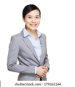Asia businesswoman