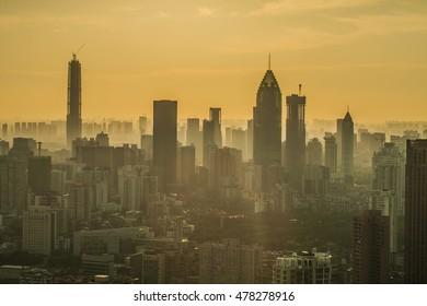 Asia China Wuhan Urban Landscape