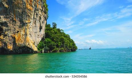 Asia picturesque sea views