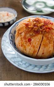 "Asia : Thai, Cambodia Style Food ""Spicy Santol"""