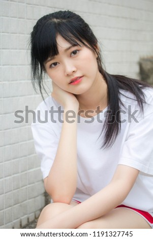 asia thai japanese teen teen white stock photo edit now 1191327745 rh shutterstock com