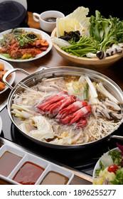 Asia traditional hot pot food
