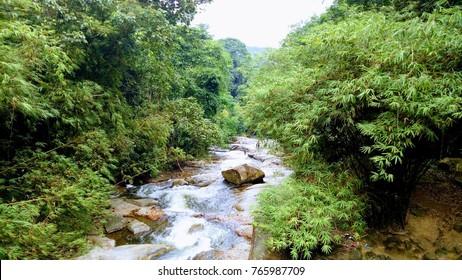 Asia Waterfall stream