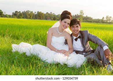 Asia Wedding couple