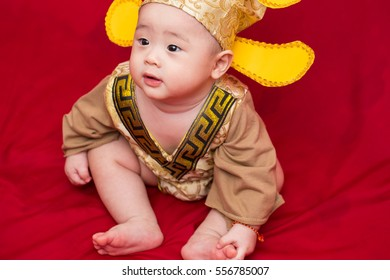 Asian baby in costume king of china cosplay  sc 1 st  Shutterstock & Asian Baby Costume King China Cosplay Stock Photo (Royalty Free ...